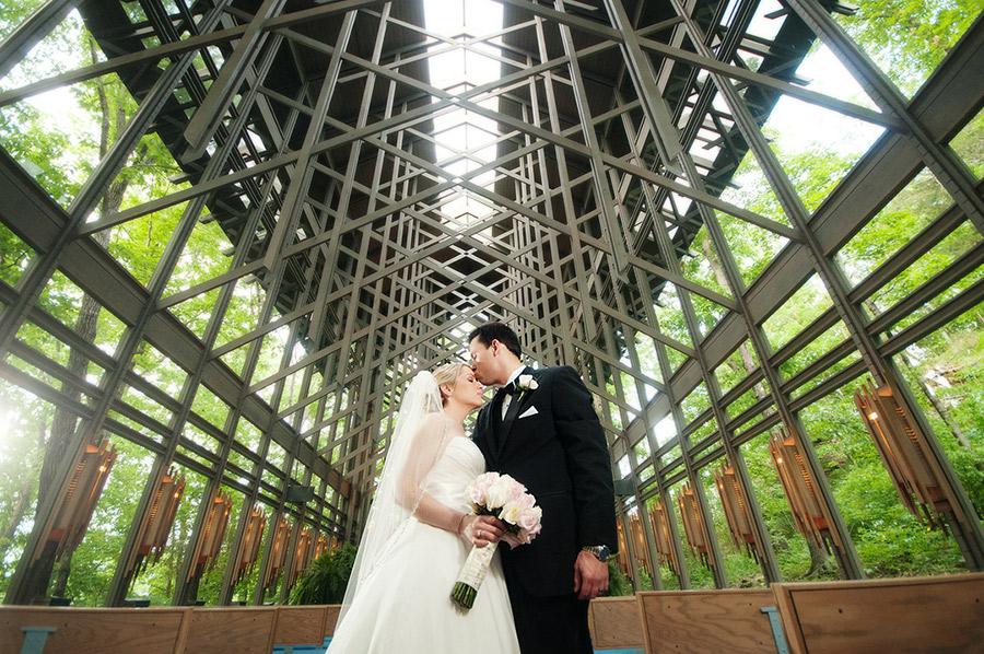 Weddings Thorncrown Chapel Is Eureka Springs